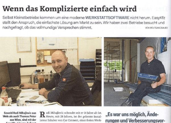 Interview KFZ-Wirtschaft