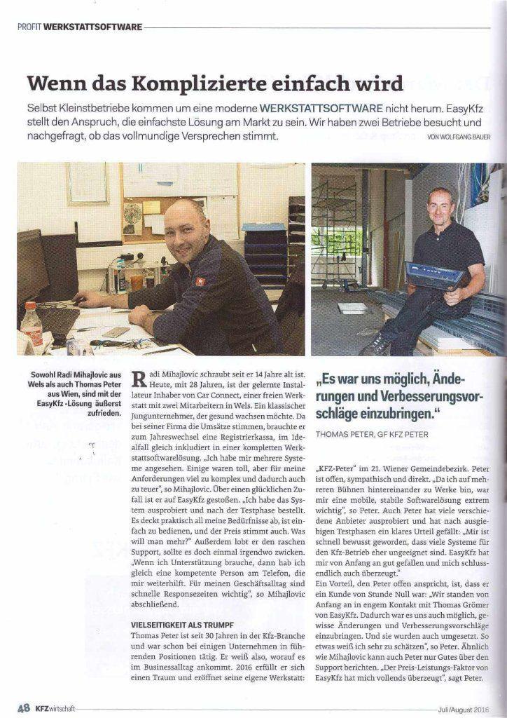 KFZ-Wirtschaft Interview