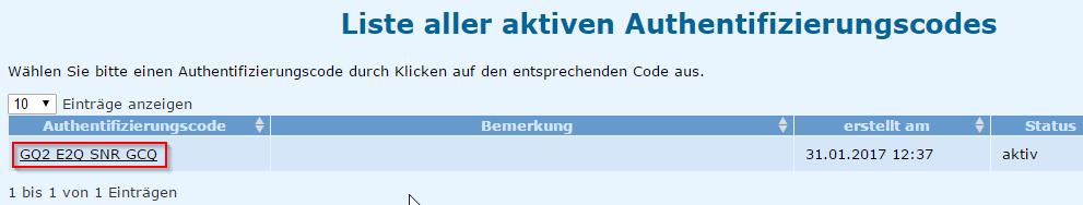 auth_code_anzeige